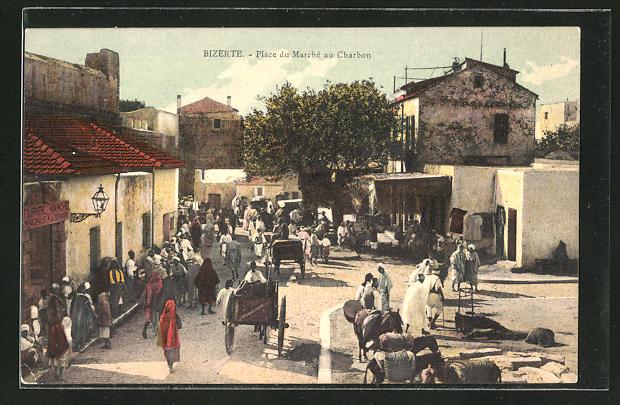 AK Bizerte, Place du Marché au Charbon