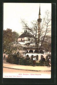 AK Sarajewo, Ansicht der Kaiser Moschee