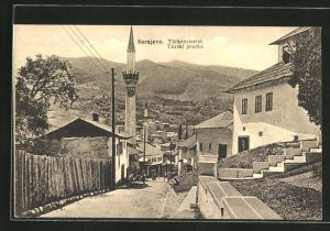 AK Sarajewo, Blick auf das Türkenviertel