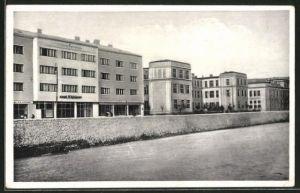 AK Sarajewo, zadruzni dem i II. muska gimnazija