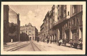 AK Sarajewo, Napredkova palacai Zemaljska banka