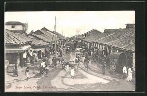 AK Colombo, Street Scene, Pettah