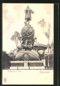 AK Guatemala, Monumento à Colon