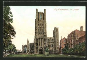 AK Ely, Cathedral, W. Front
