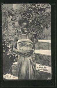 AK Ruanda, Muhutu-Mädchen