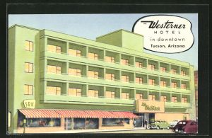 AK Tuscon, AZ, The Westerner Hotel in downtown
