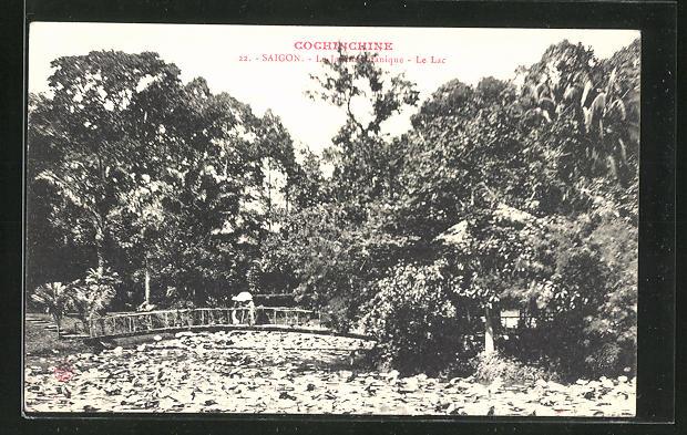 AK Saigon, Le Jardin botanique, le Lac