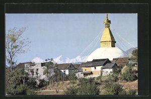 AK Kathmandu, Hotel Shanker, Bodnath Stupa