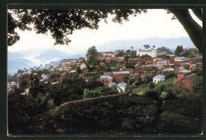 AK Tansen City, West Part of Nepal, Panorama