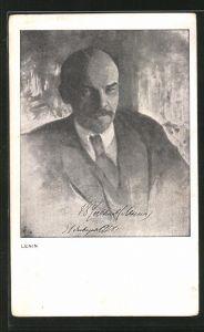 Künstler-AK Freie Sozialistische Jugend Deutschlands, Lenin