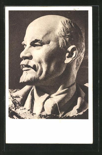 Künstler-AK Portrait Vladimir Iljic Lenjin, Lenin