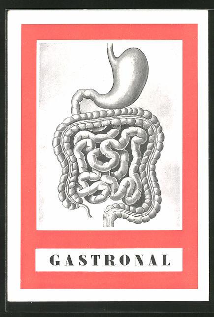 AK Medikament Gastronal, antacidum, digestivum a desinficiens zazivaciho traktu