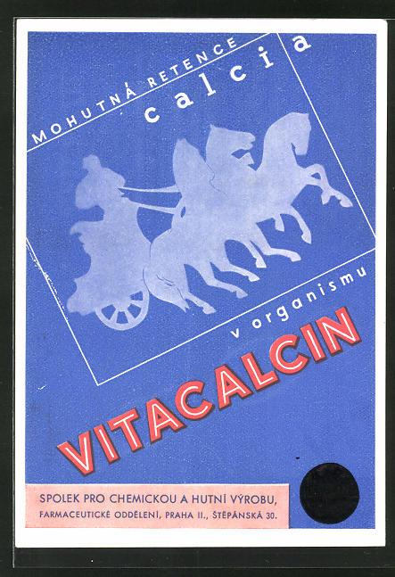 AK Medikament Vitacalcin, zarucuje mohutnou retenci a fixaci calcia v organismu