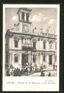 AK Udine, Chiesa di S. Giacomo, La facciata