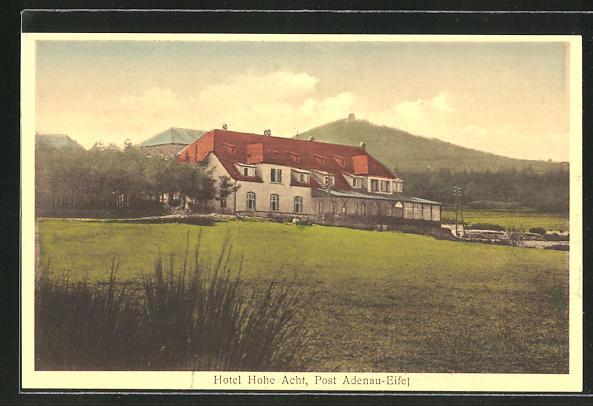 AK Adenau / Eifel, Hotel Hohe Acht 0