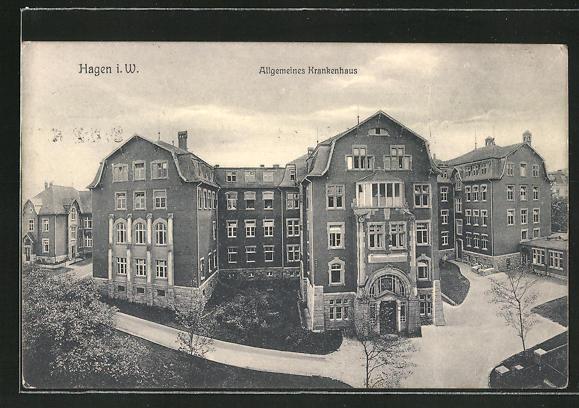 AK Hagen i. W., Allgemeines Krankenhaus