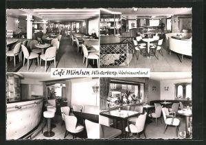 AK Winterberg / Hochsauerland, Café Mörchen