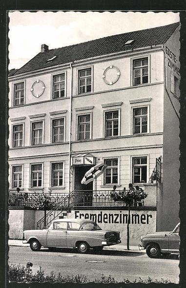 AK Remagen, Hotel-Pension Prinz, Rheinpromenade 21