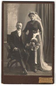 Fotografie Valentin Wolf, Nürnberg, Portrait Braut und Bräutigam, Hochzeit