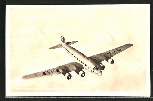 AK Verkehrs-Flugzeug Focke Wulf FW 200