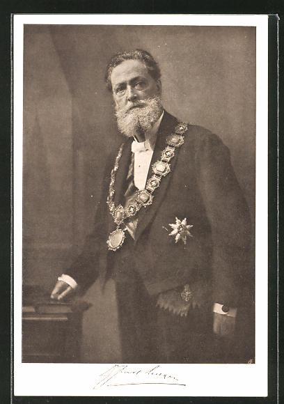 AK Bürgermeister Carl Lueger mit Orden