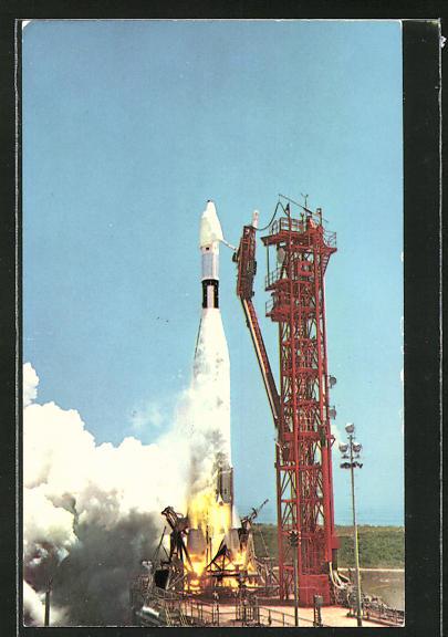 AK John F. Kennedy Space Center, NASA, NASA's Ranger 7 lifts off Pad 12, Raumfahrt