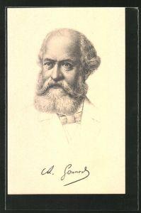 AK Charles Gounod im Portrait