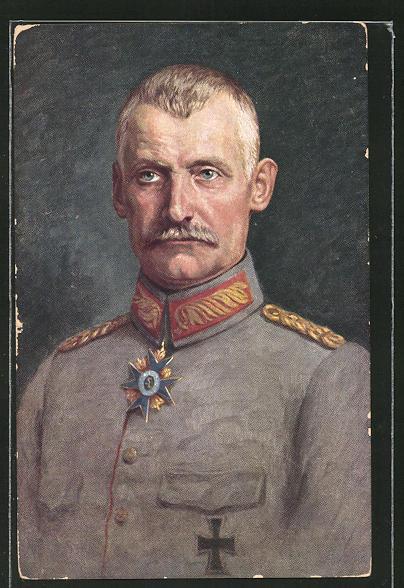 AK Kronprinz Rupprecht von Bayern in Feldgrau