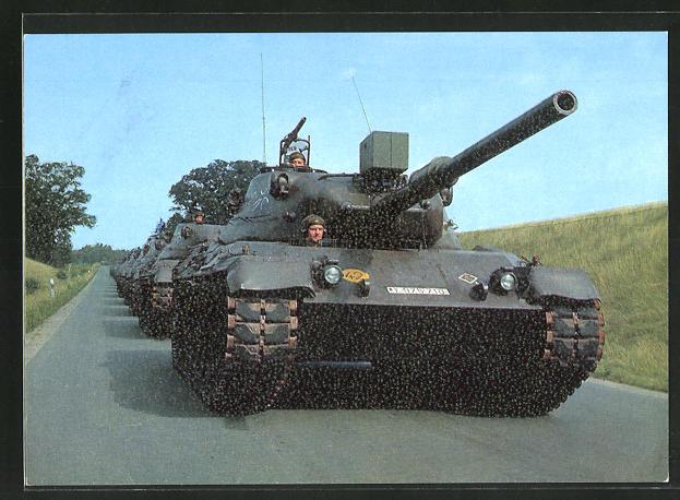 AK die Deutsche Bundeswehr, 39 to - Kampfpanzer