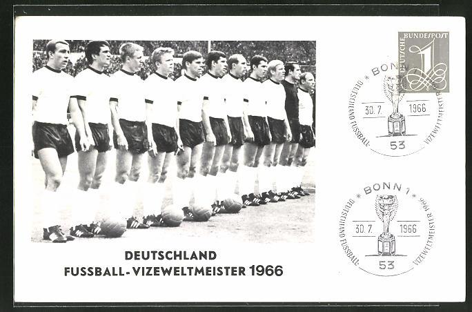 AK Deutschland, Fussball-Vizeweltmeister 1966