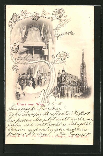 AK Wien, Die grosse Pummerin von St. Stefan, Glocke