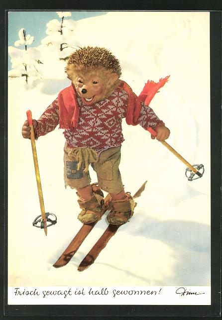 AK Mecki fährt Ski