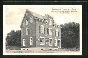 AK Birgden, Blick auf das Restaurant Bergisches Haus von Emil Diederichs