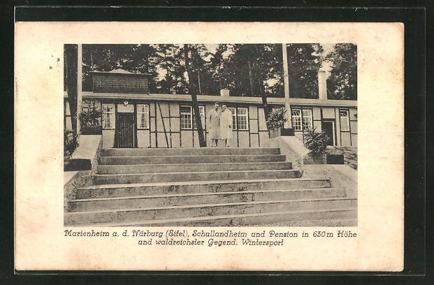 AK Nürburg / Eifel, Schullandheim und Pension