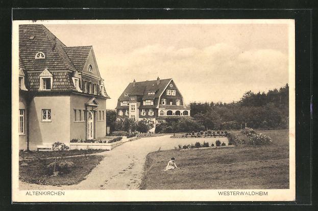 AK Altenkirchen, Partie am Westerwaldheim