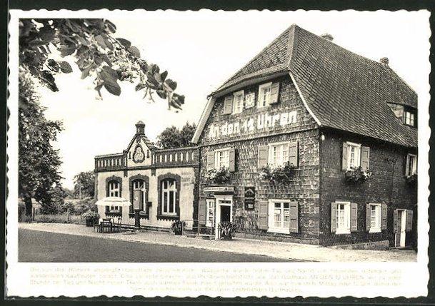 AK Leichlingen / Rhld, altbergisches Gasthaus