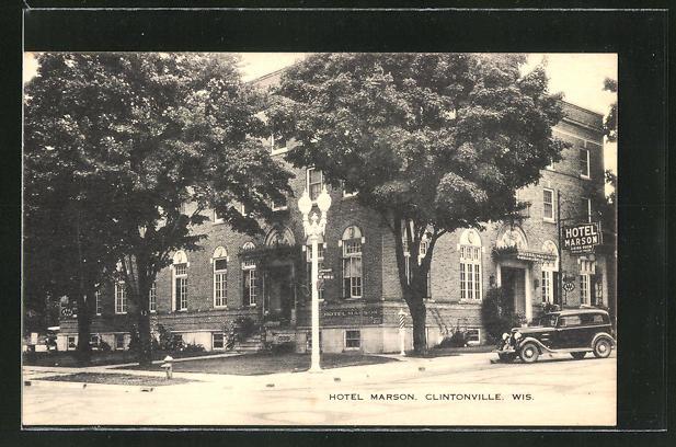 AK Clintonville, WI, Hotel Marson