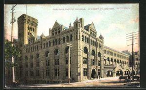 AK Montreal, Canadian Pacific Railway, Windsor St. Station, Bahnhof
