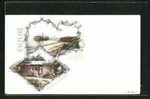 AK Salt Lake, UT, Salt Air Bathing Pavilion, Oldesthouse in Salt Lake