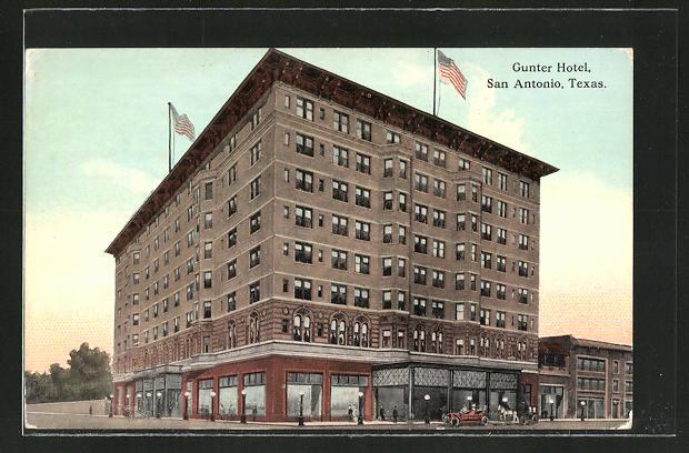 AK San Antonio, TX, Gunter Hotel