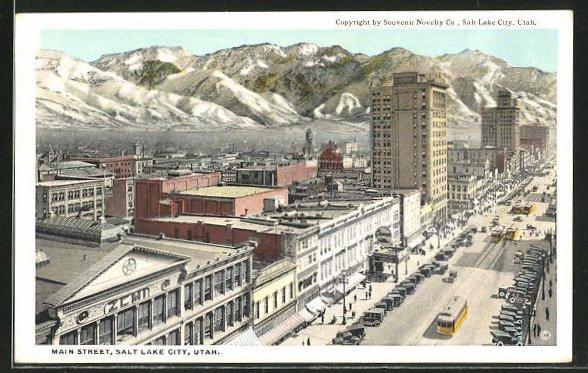 AK Salt Lake City, UT, Main Street 0