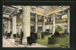 AK Salt Lake City, UT, The Lobby, Hotel Utah