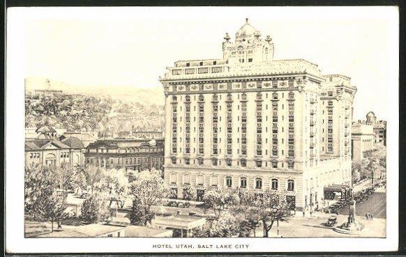 AK Salt Lake City, UT, Hotel Utah 0