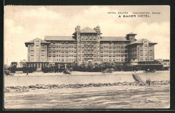 AK Galveston, TX, A Baker Hotel, Hotel Galvez