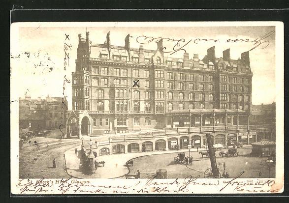 AK Glasgow, St. Enoch's Hotel 0