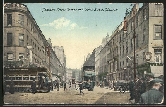 AK Glasgow, Jamaica Street Corner and Union Street 0