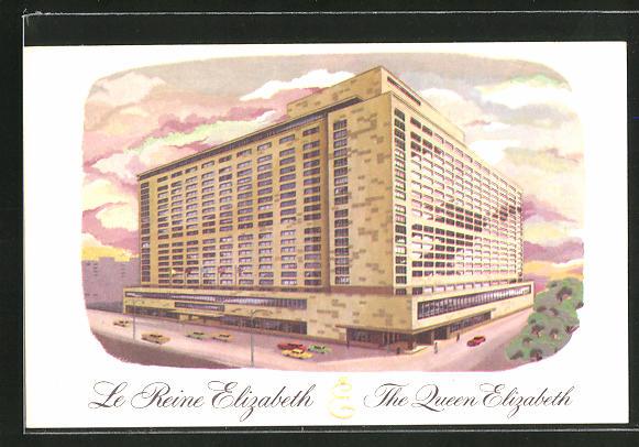 AK New York, NY, The Queen Elizabeth Hotel 0