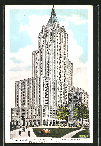 AK New York, NY, New York Life Insurance Co., New Home Office Building