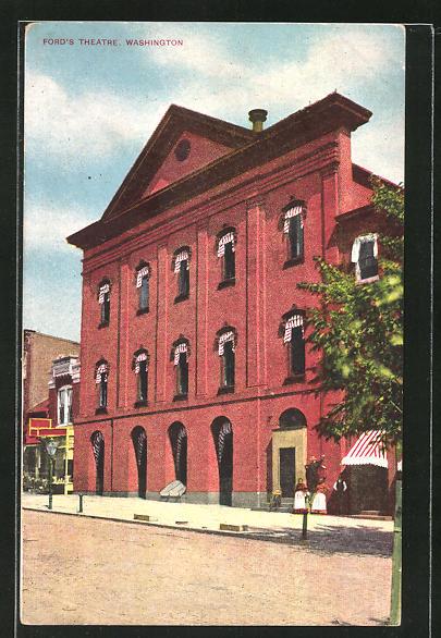 AK Washington D.C., Ford's Theatre 0