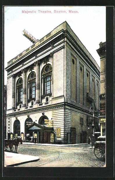 AK Boston, MA, Majestic Theatre